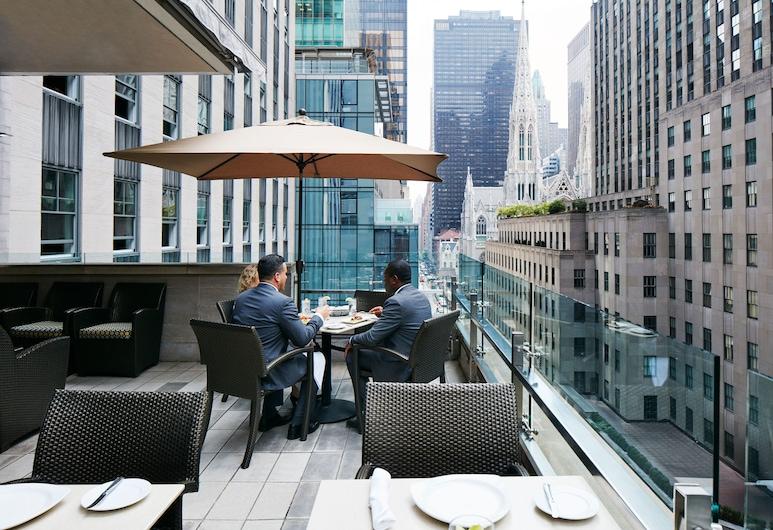 The Jewel, a Club Quarters Hotel, Opposite Rockefeller Center, Nova York, Restaurante