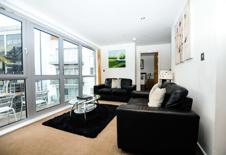 Your Stay Bristol Marsh House, בריסטול, דירת סופריור, 2 חדרי שינה, אזור מגורים