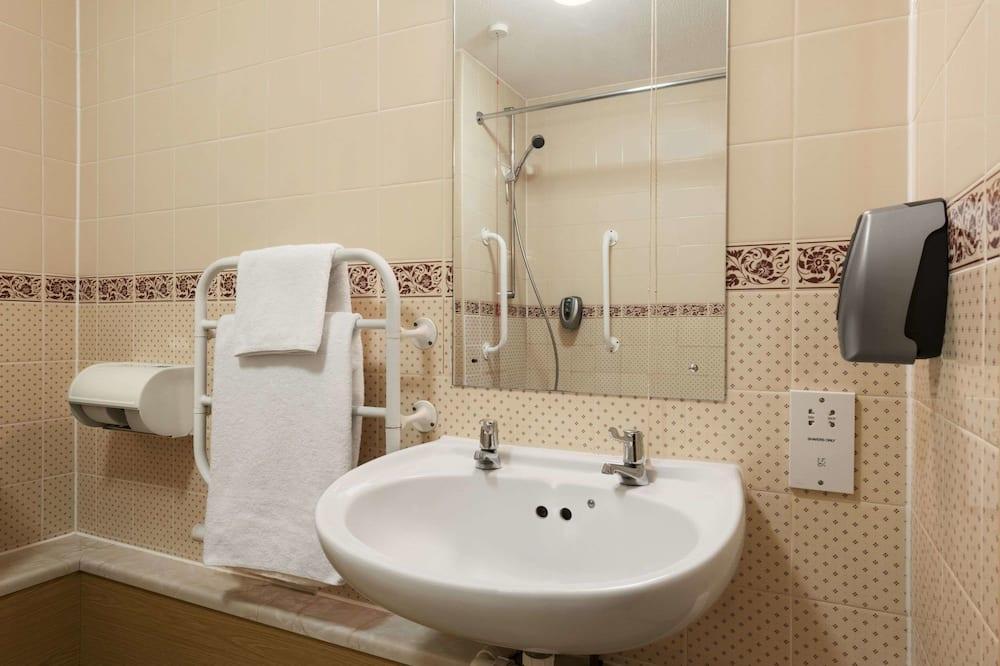 Room, 1 Twin Bed, Accessible, Non Smoking - Bathroom