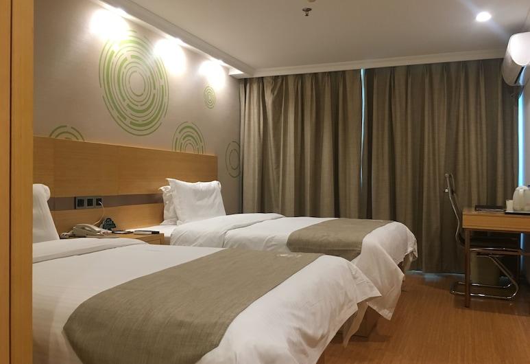 格林豪泰上海虹橋機場公寓酒店, 上海市, 雙床房, 客房