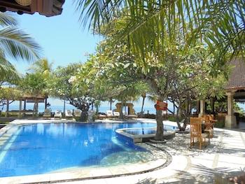 Karangasem bölgesindeki Arya Amed Beach Resort and Dive Center resmi