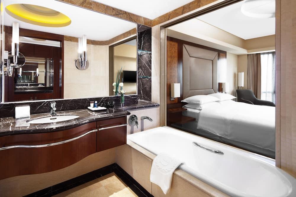 Club Room, 2 Double Beds, Non Smoking - Bathroom