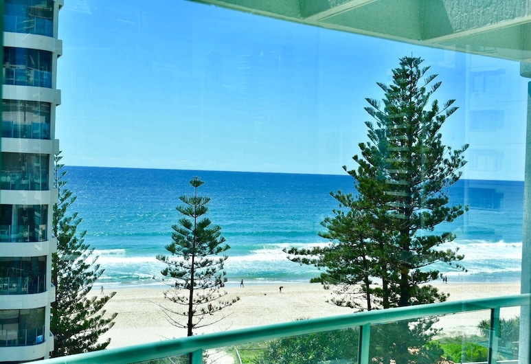 Emerald Sands Apartments, Surfers Paradise, Διαμέρισμα, 2 Υπνοδωμάτια, Θέα στη Θάλασσα, Αίθριο/βεράντα
