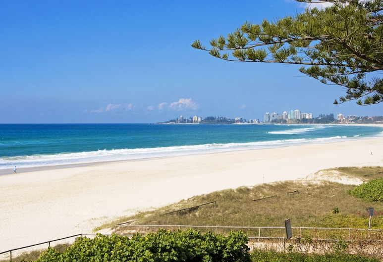 Oceanside Resort, Bilinga, Vistas desde el alojamiento
