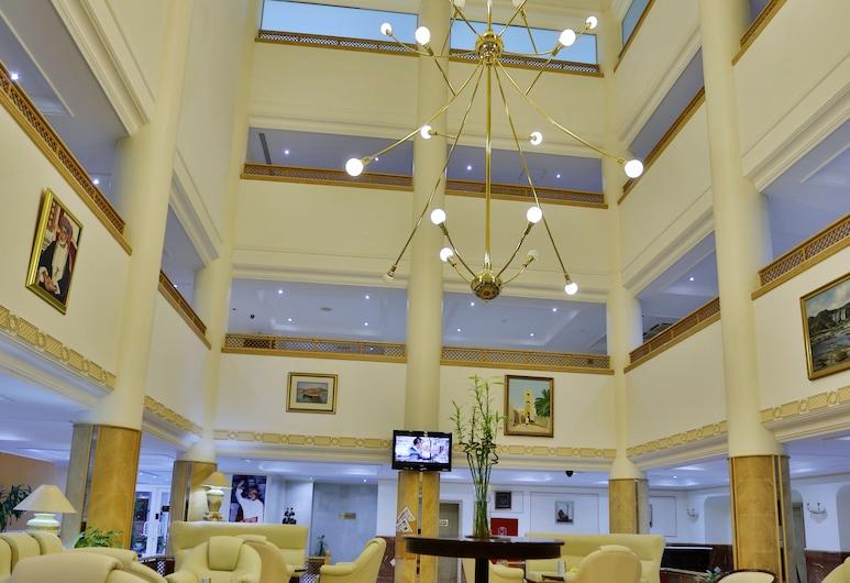 Haffa House Hotel, Maskat, Sitzecke in der Lobby