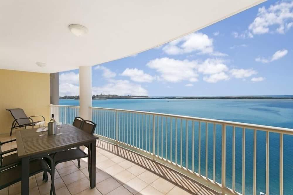 Стандартные апартаменты, 2 спальни, для некурящих, кухня (7 Nights) - Балкон