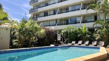 Foto van Hi Ho Beach Apartments in Broadbeach
