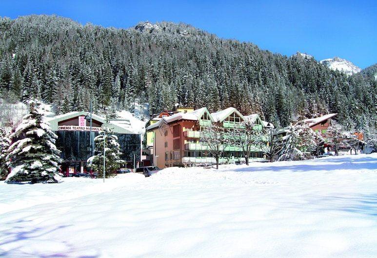 Dolomiti, Canazei, View from Hotel