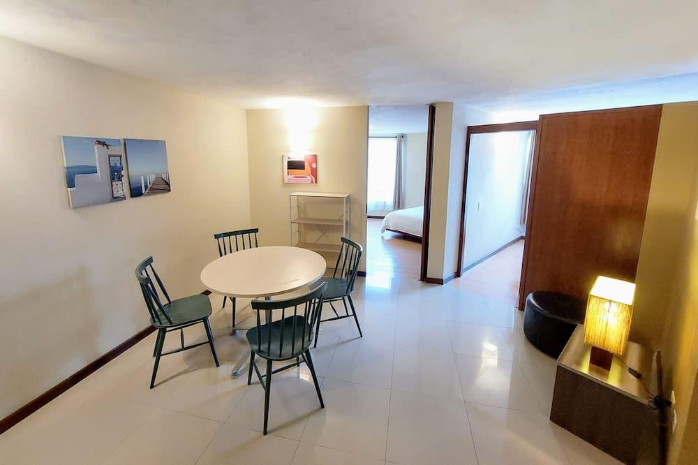 סוויטה משפחתית, 2 חדרי שינה - אזור מגורים
