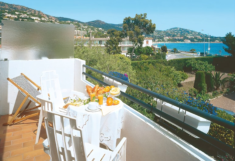 Hotel L'Esterella, Saint-Raphaël, Chambre Double Supérieure, balcon, Balcon