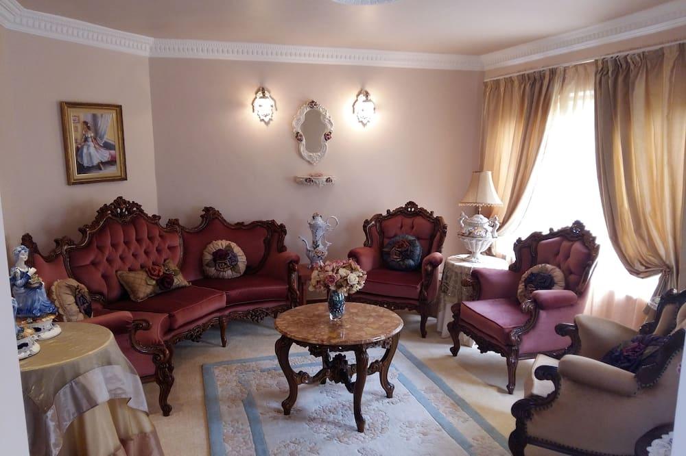 豪华公寓, 3 间卧室, 海景 - ห้องนั่งเล่น