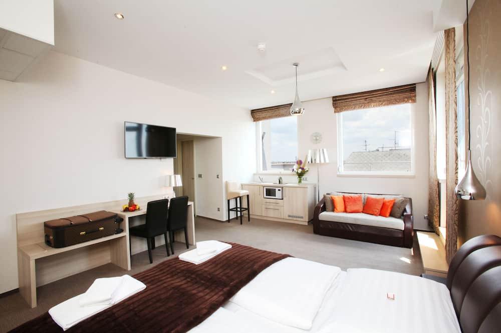 Panoramic Apart Daire, Teras - Oturma Odası