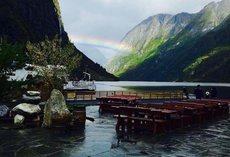 Gudvangen Fjordtell, אורלנד, נוף להר