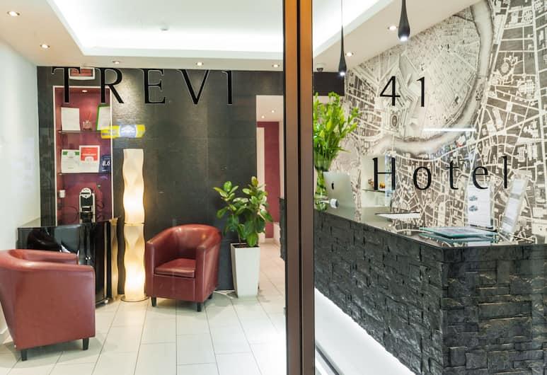 Trevi 41 Hotel, Roma, Resepsjon