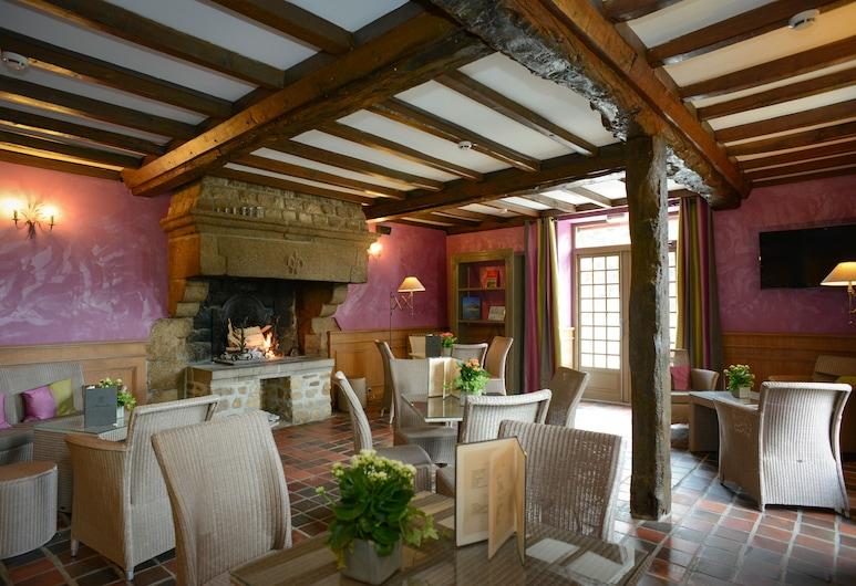 Le Relais Du Roy, Le Mont-Saint-Michel, Lounge i lobbyn