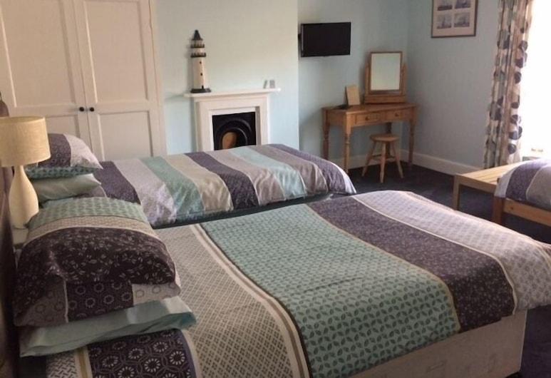 Taunton House B&B, Swanage, Trojlôžková izba (Room 4  Pet Friendly), Hosťovská izba