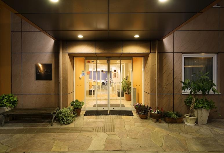 Chisun Inn Kumamoto Miyuki, Kumamoto, Entrada do Hotel