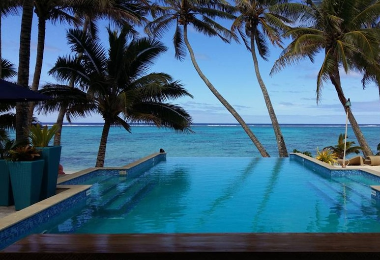 Little Polynesian Resort, Rarotonga, Outdoor Pool