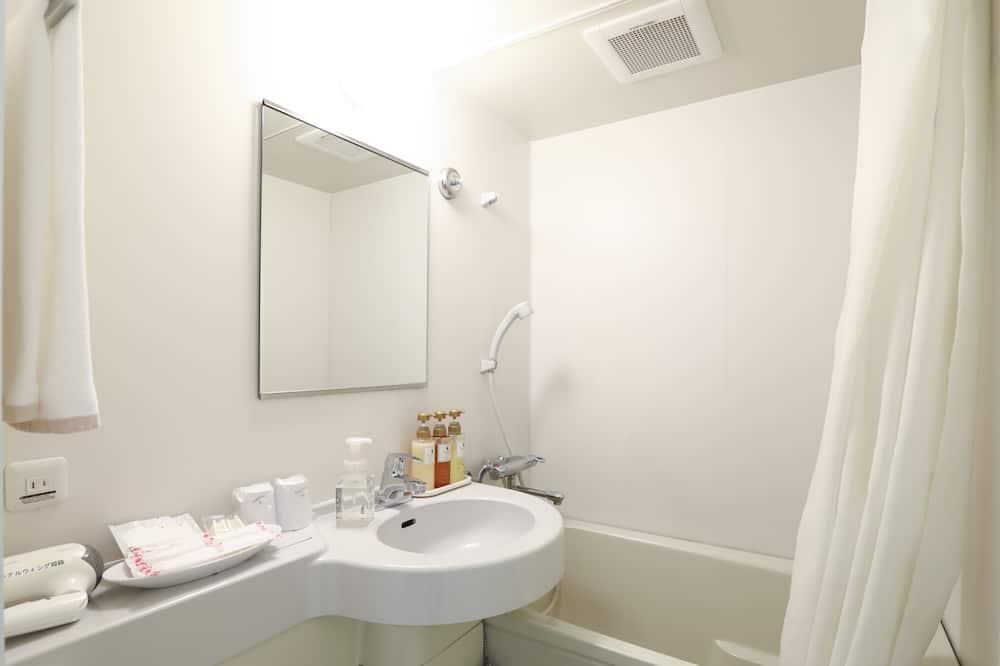 Quarto Individual, Fumadores (typeA, 14 sqm, 120cm Bed) - Casa de banho