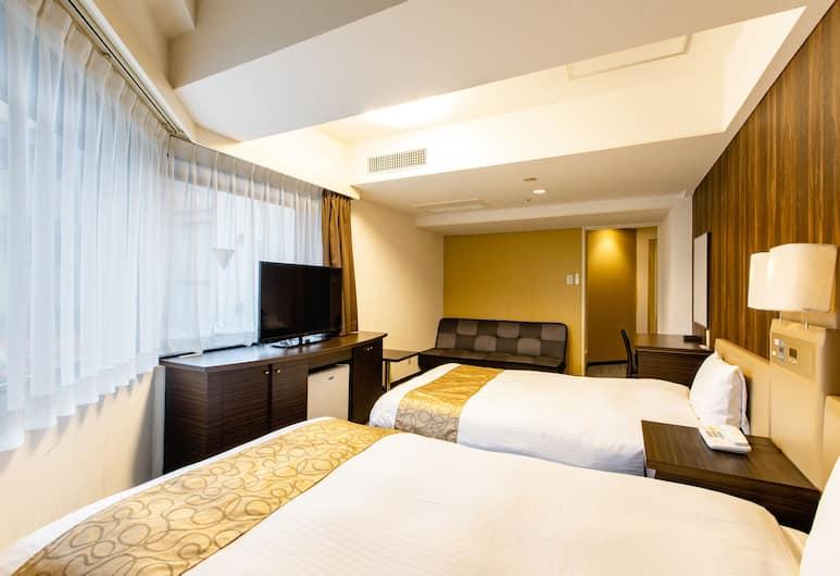 ホテルウィングインターナショナル新宿, 新宿区, デラックス ツインルーム 禁煙, 客室