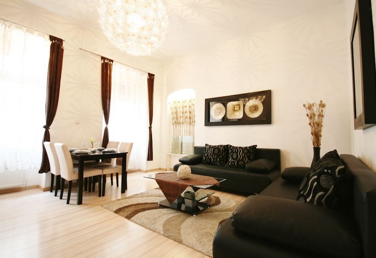 Vienna CityApartments - City Center Luxury Apartment, Viena, Apartment for 6 people, Sala
