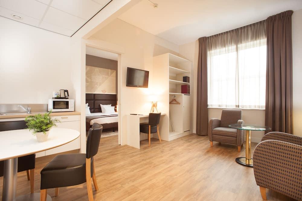 Kamar, 2 kamar tidur, non-smoking, dapur kecil - Ruang Keluarga