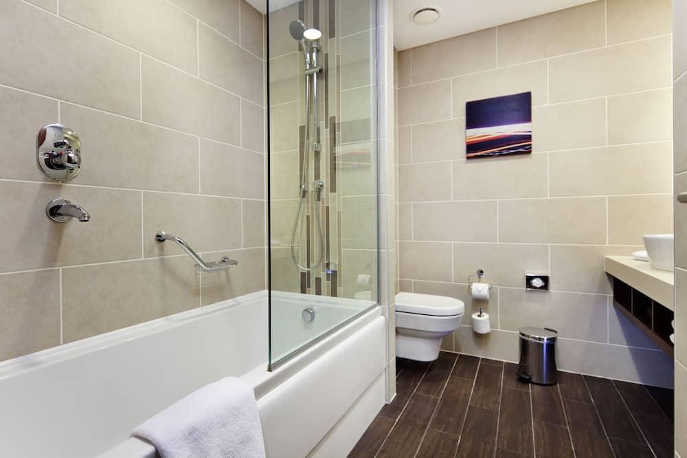 스탠다드룸, 퀸사이즈침대 1개, 장애인 지원 - 욕실