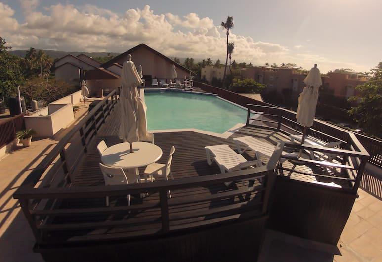 Condo Hotel Caribey, Las Terrenas, Kolam Renang Luar Ruangan
