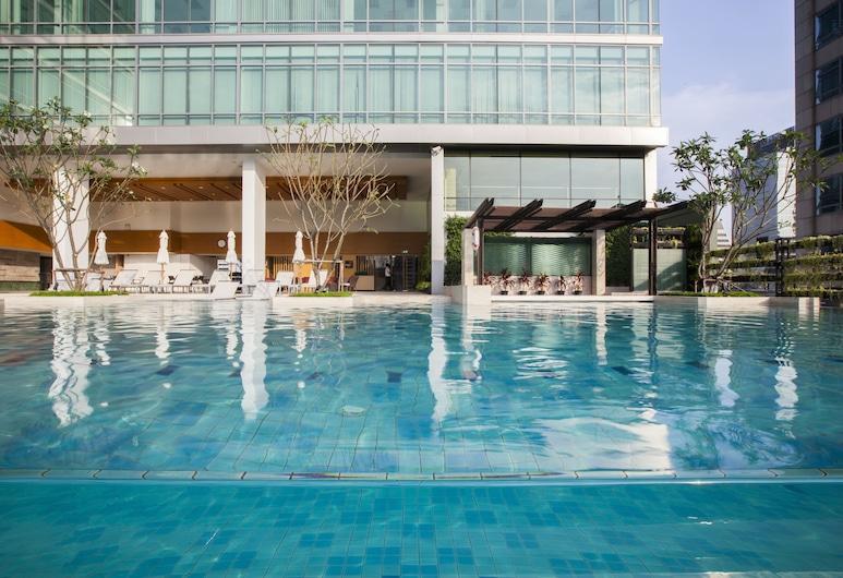 Sivatel Bangkok, Banguecoque, Piscina Exterior