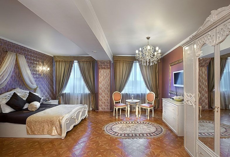 Hotel de Paris, Jekaterinburg, Suite, Zimmer