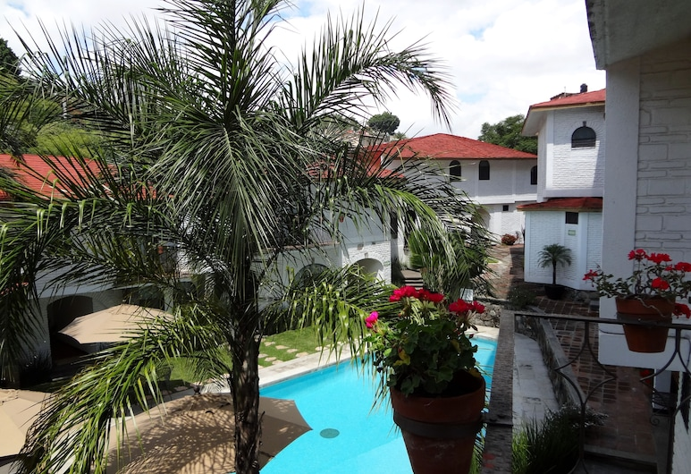 Hotel Ilebal, Cuernavaca, Double Room Single Use, 1 King Bed, Balcony