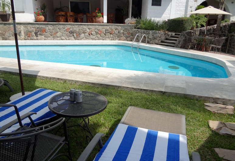 Hotel Ilebal, Cuernavaca, Venkovní bazén