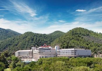 Introduce las fechas para ver los descuentos de hoteles en Izmir