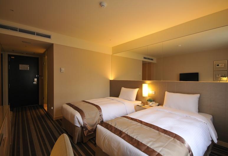 中源大飯店, 台北市, 客房, 2 張單人床, 無窗戶, 客房