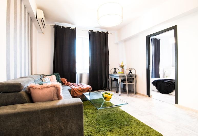 Bucharest Serviced Apartments, Bucharest, Standard Apartment, 1 Bedroom, Kitchen, Living Room