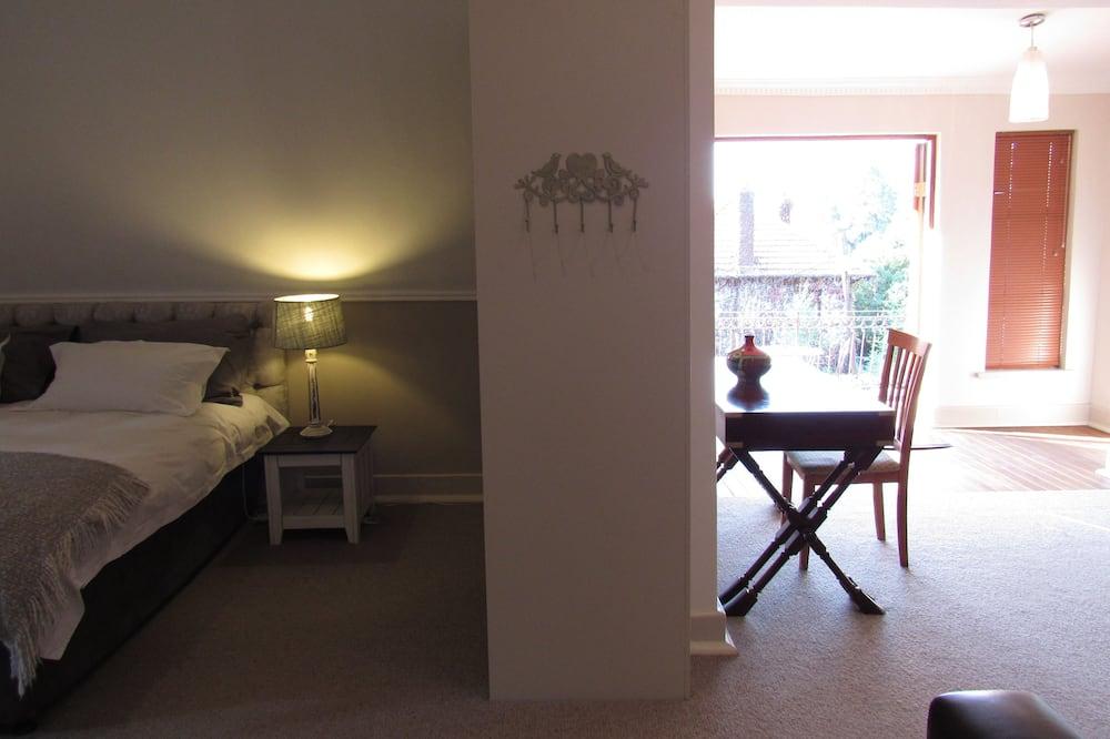 Luxury Room, Balcony - Living Area