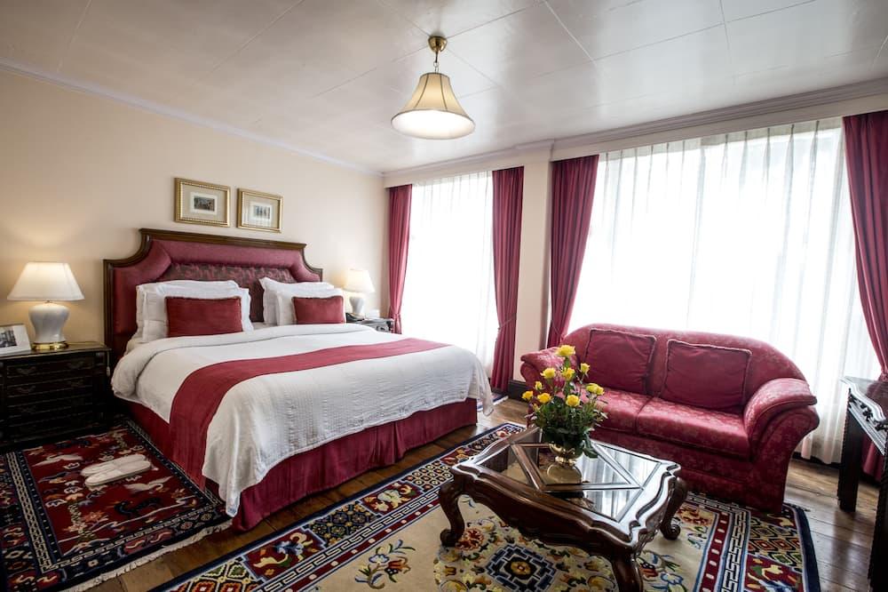 חדר דה-לוקס זוגי או טווין - סלון