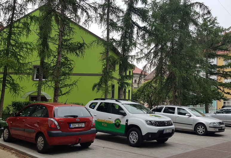 Penzión Školní Chomutov, Chomutov, Pintu masuk properti