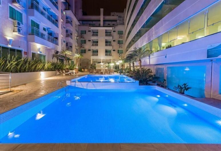 Aluguel Apartamento 1 quarto Summer Beach 076A, Bombinhas, Outdoor Pool