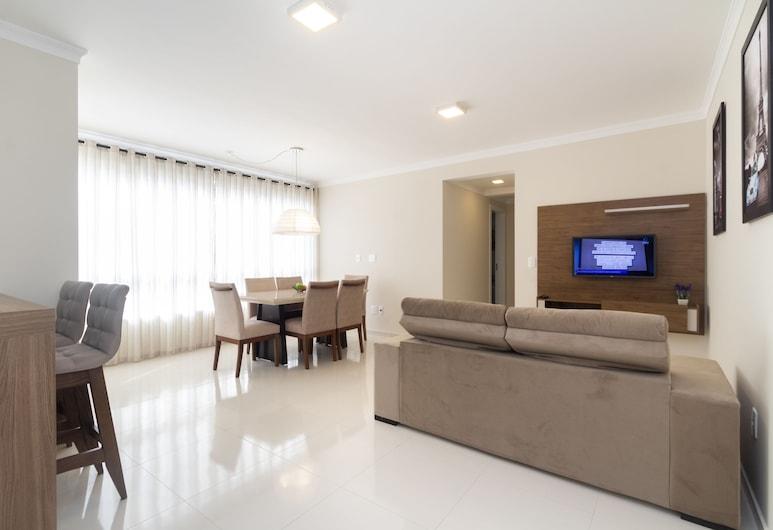 ألوجيل أبارتامنتو 2 كوارتوس 1 سويت 311 إيه, بومبينهاس, شقة - غرفتا نوم, غرفة معيشة