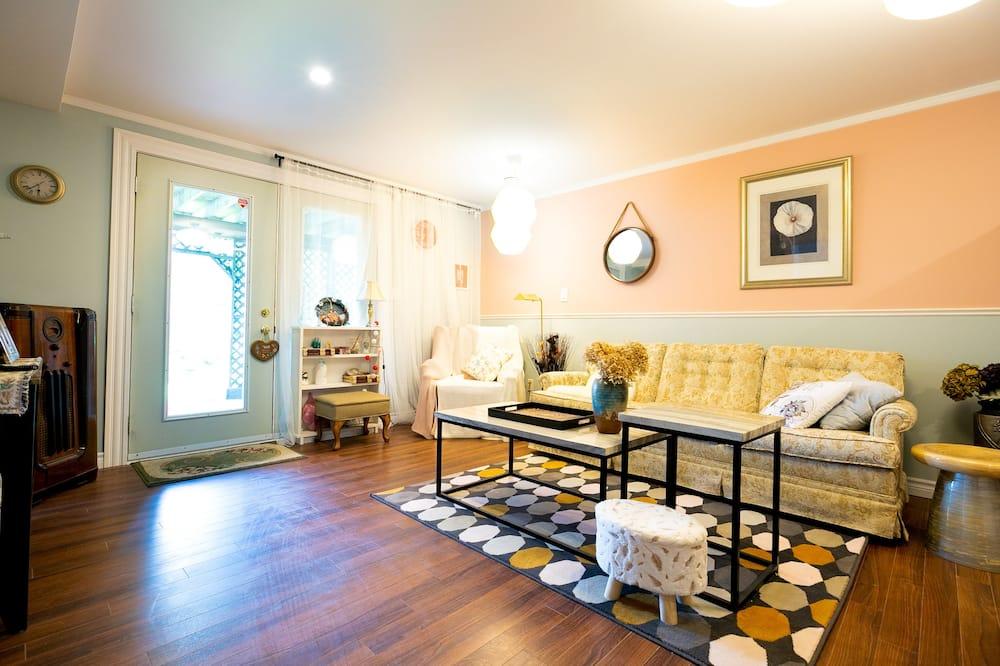 Habitación Elite con 1 cama doble o 2 individuales - Sala de estar