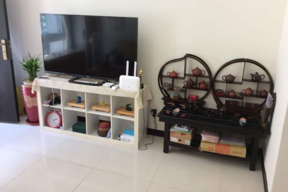 Pokoj Deluxe s dvojlůžkem - Obývací prostor