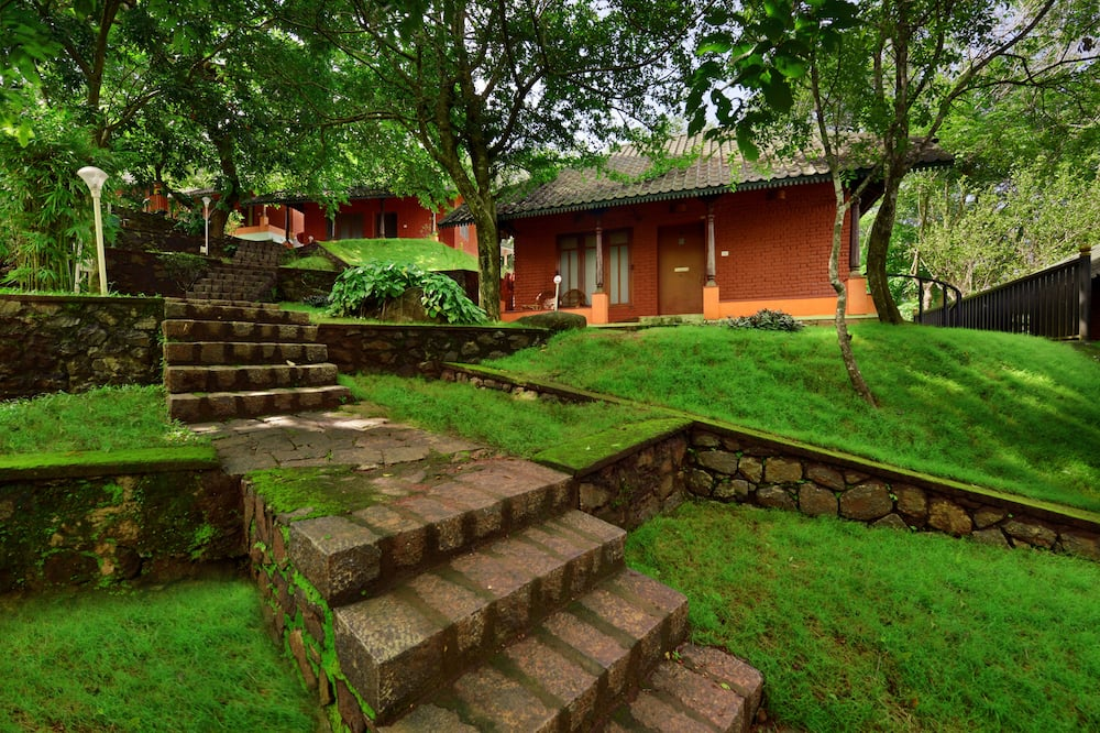 Traditionele cottage - Uitzicht op tuin