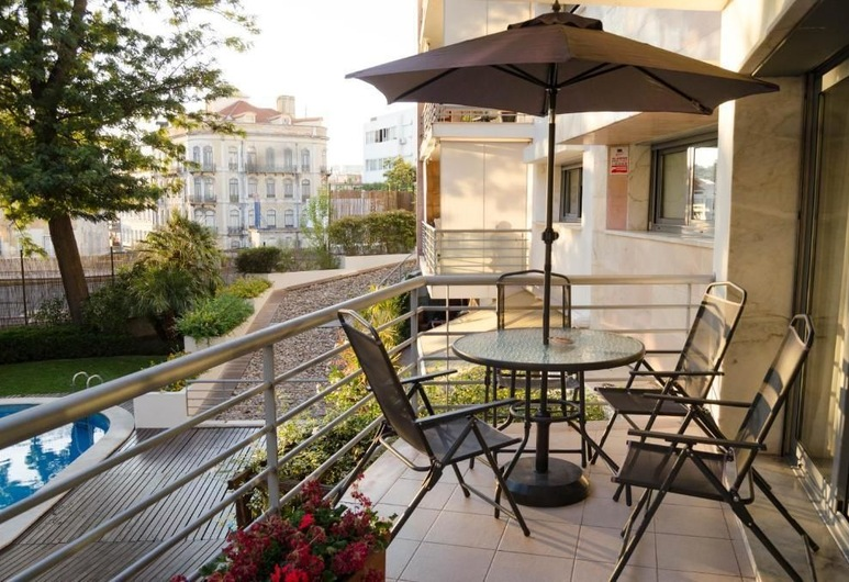Welcome to Lisbon's Spacious Hidden, Lizbona, Apartament, 2 sypialnie, Balkon