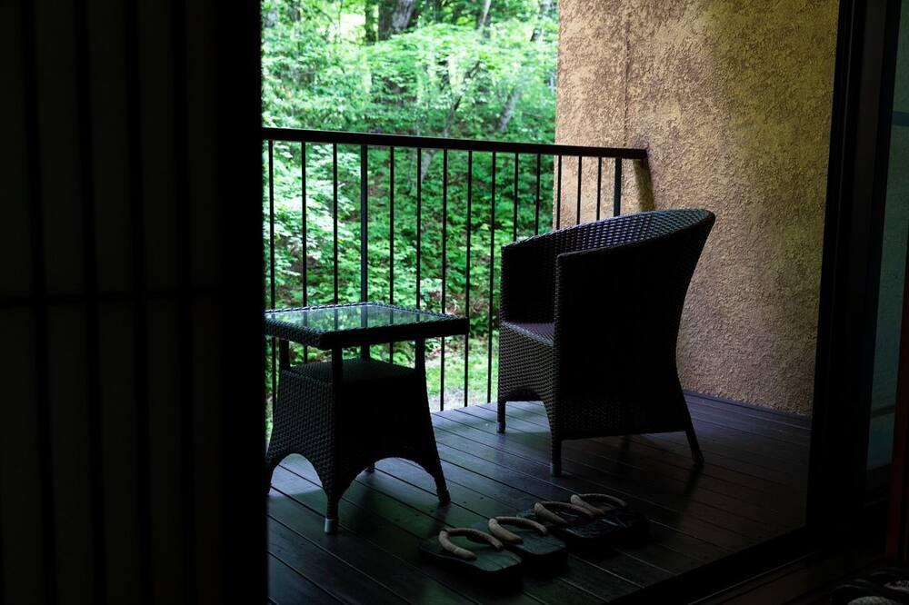 Zimmer (Amber) - Balkon