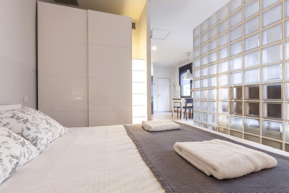 Căn hộ, 1 phòng ngủ, Hiên - Phòng