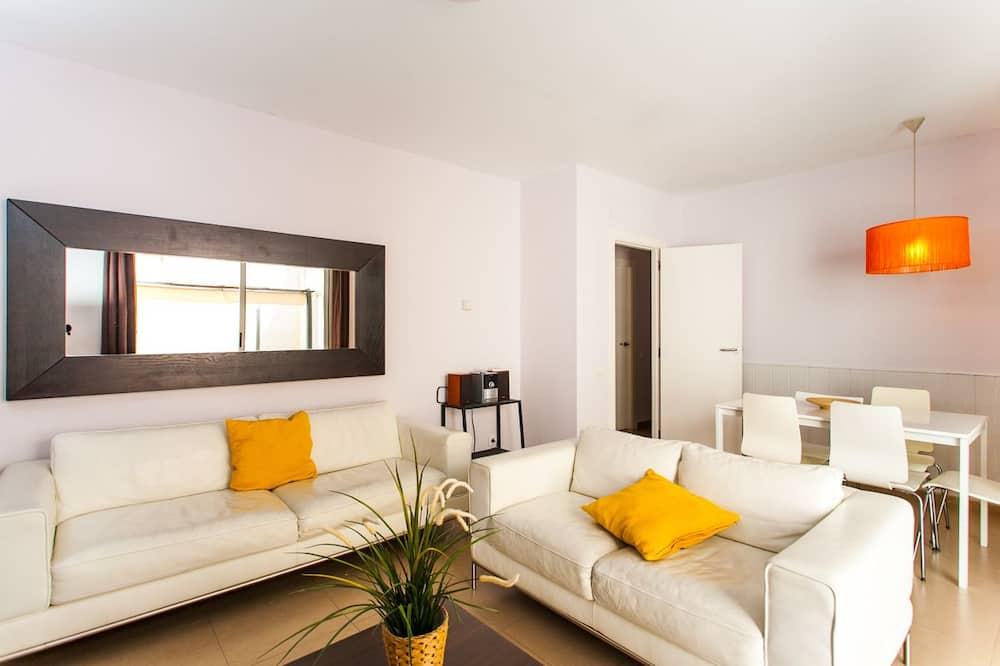 Apartament, 3 sypialnie, taras - Salon