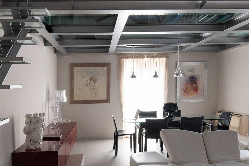 Deluxe apartman - Nappali rész
