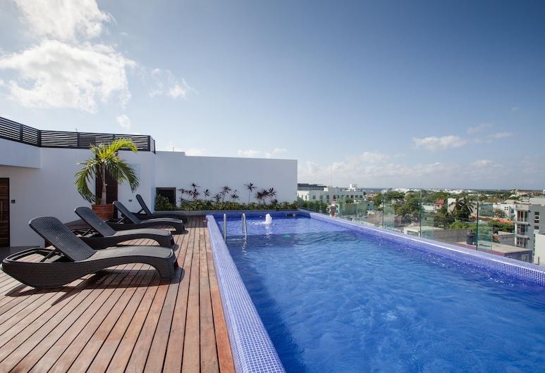 Icono 405, Playa del Carmen, Pool