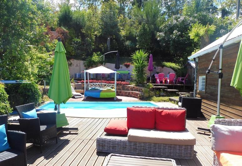 聖勒 1 房精彩海景平房 - 附共享游泳池及專屬花園 - 離海灘 7 公里, 聖魯